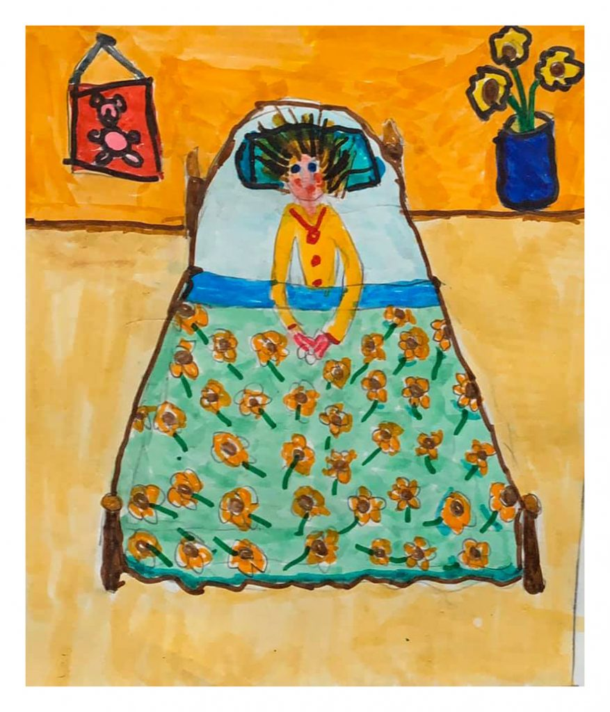 She Wakes Me Up In The Mornings.