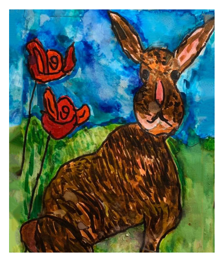 And Frightens All The Hares